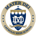 Mater Dei Catholic Events Logo